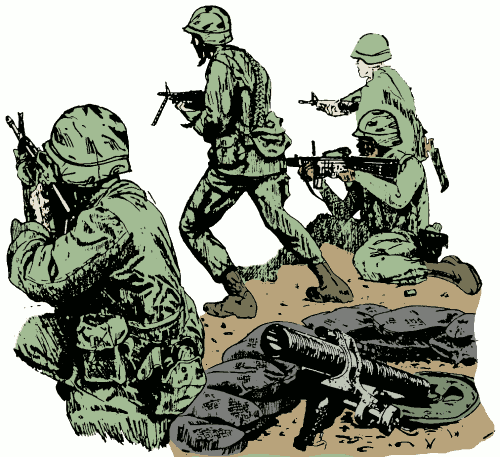 PNG Military Soldier - 73409