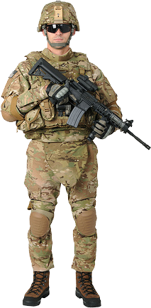 PNG Military Soldier - 73396