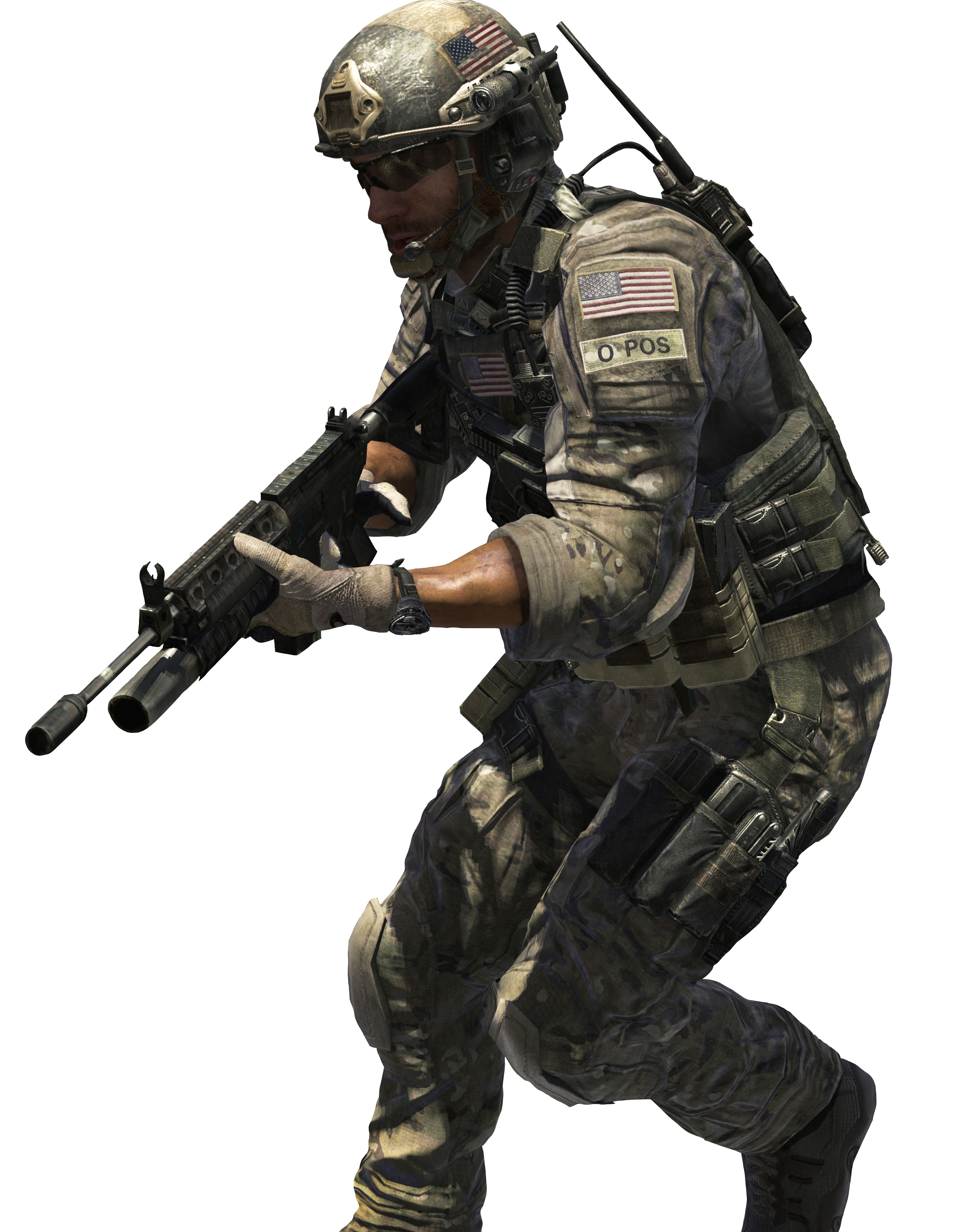 PNG Military Soldier - 73408