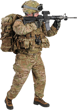 PNG Military Soldier - 73395