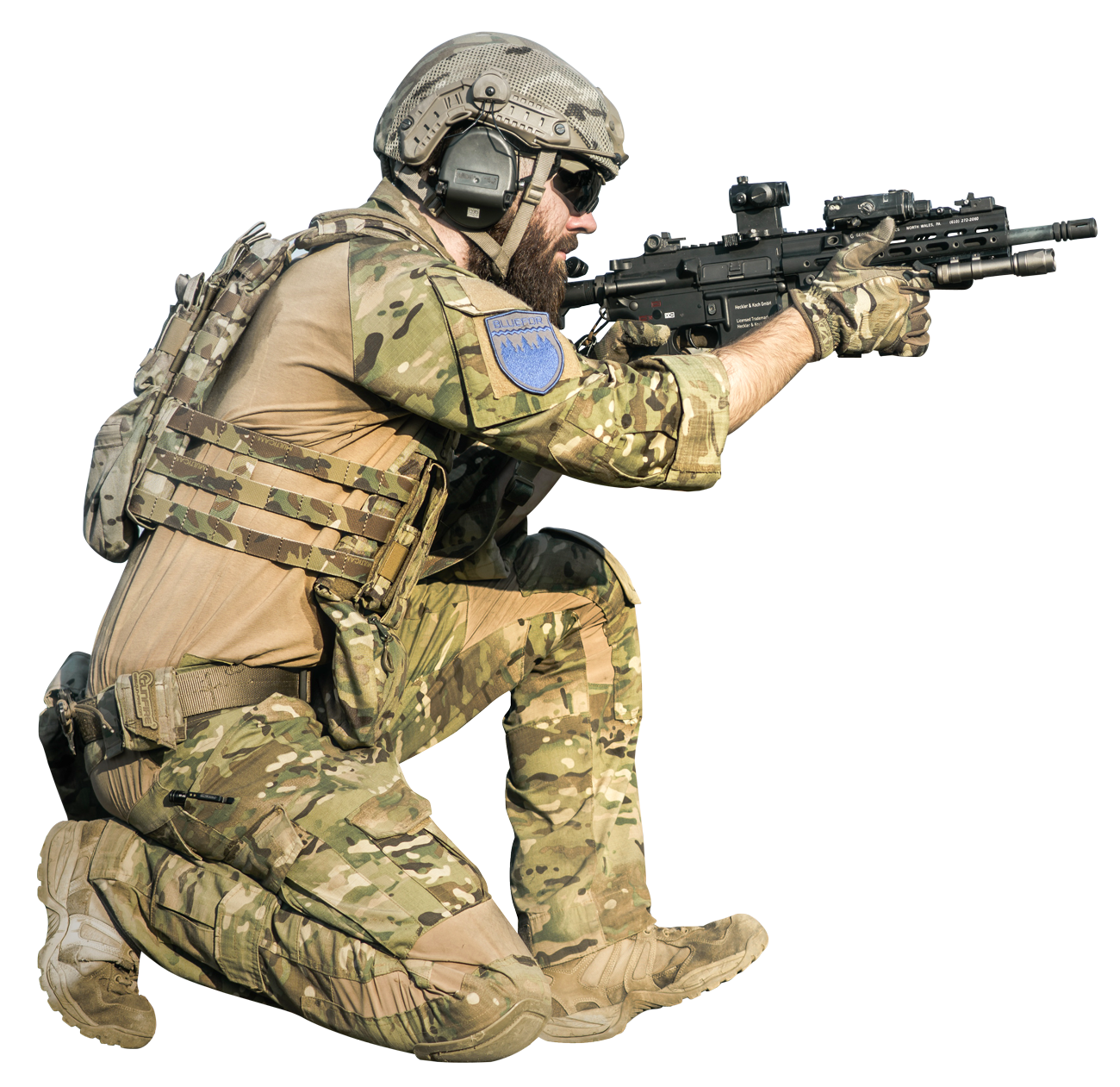 PNG Military Soldier - 73394