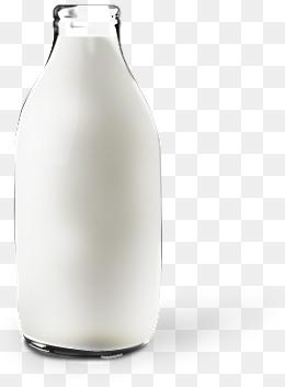 3D milk bottle, Vector, PSD, Bottle PNG and PSD - PNG Milk Bottle