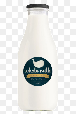 Milk bottle, Taobao, Drink Tea And Wine, Physical Products PNG and PSD - PNG Milk Bottle