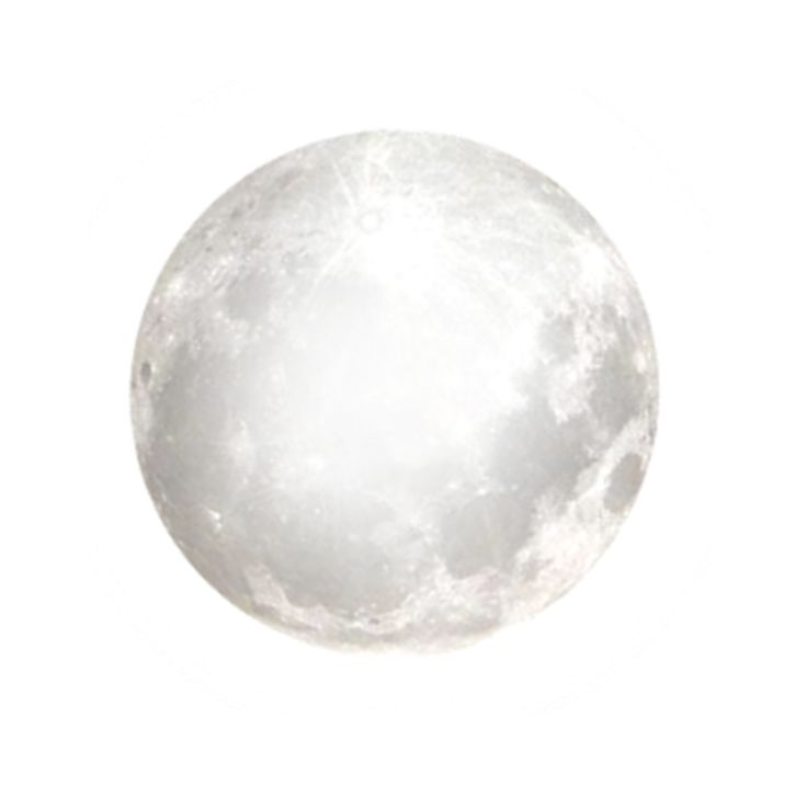 Bright Full Moon PNG by clairesolo on DeviantArt | Png _ Icons _ | Pinterest - PNG Moon