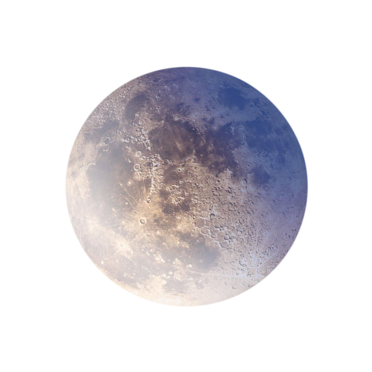 . PlusPng.com Full Blue Moon -PNG by annamae22 - PNG Moon
