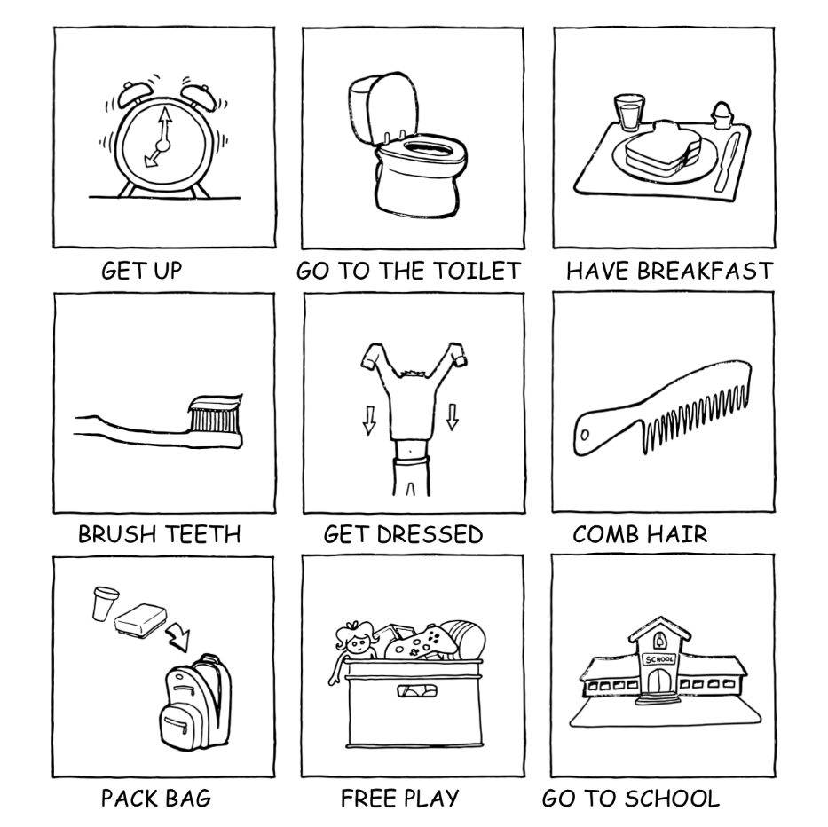 PNG Morning Routine-PlusPNG.com-933 - PNG Morning Routine
