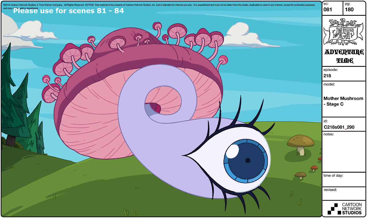 Image - S7e4 Mother Mushroom-modelsheet(2).png | Adventure Time Wiki |  FANDOM powered by Wikia - PNG Mother Only
