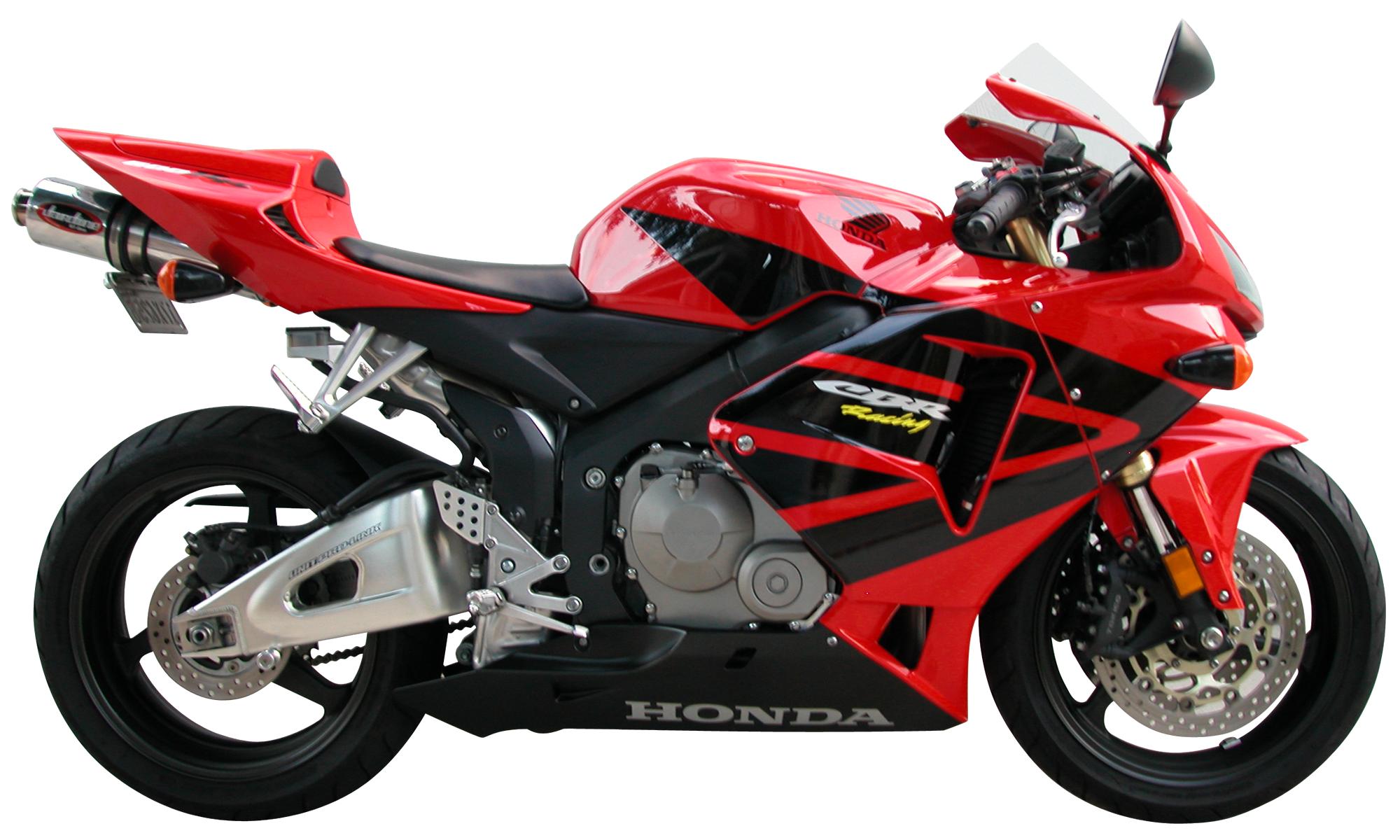 File:2006HondaCBR600RR-profile.png - PNG Motor