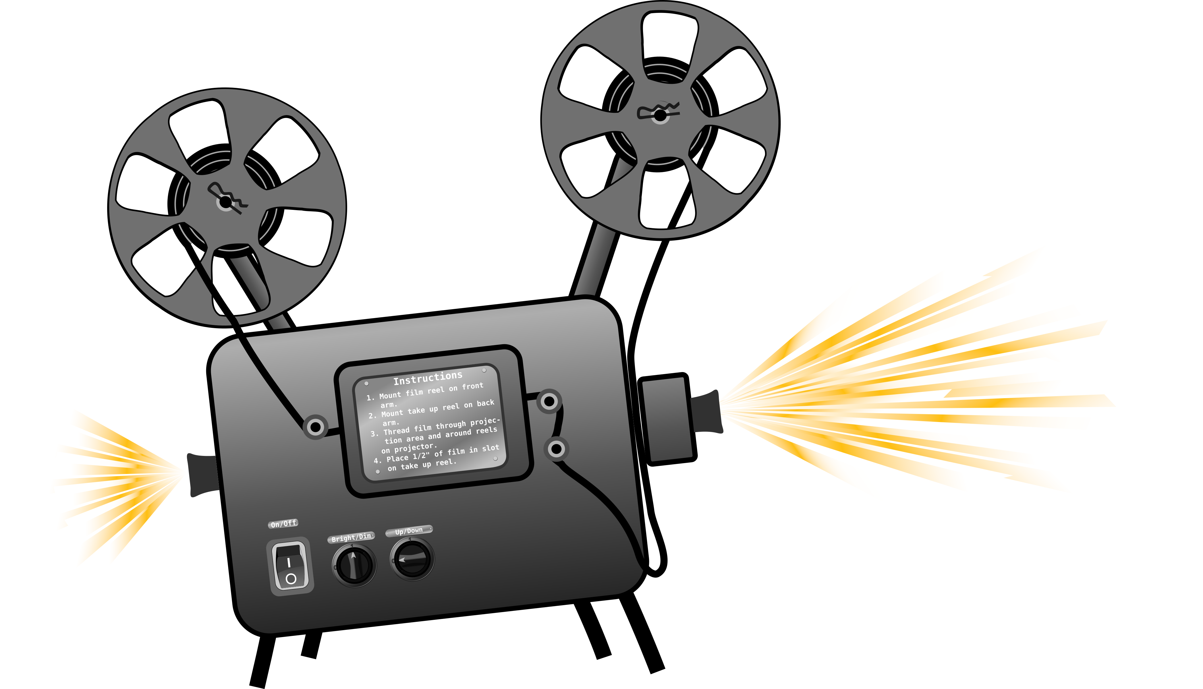 BIG IMAGE (PNG) - PNG Movie Projector