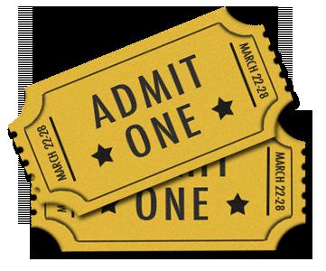 PNG Movie Ticket - 79764