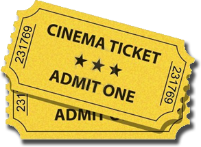 Itu0027s Movie Night at u201cThe Garageu201d - PNG Movie Ticket