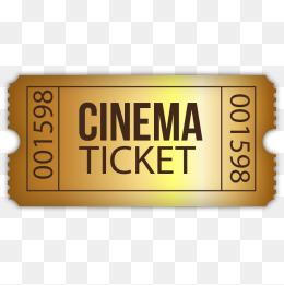 PNG Movie Ticket - 79754
