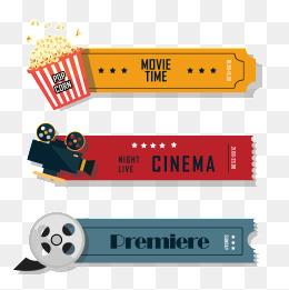 PNG Movie Ticket - 79757