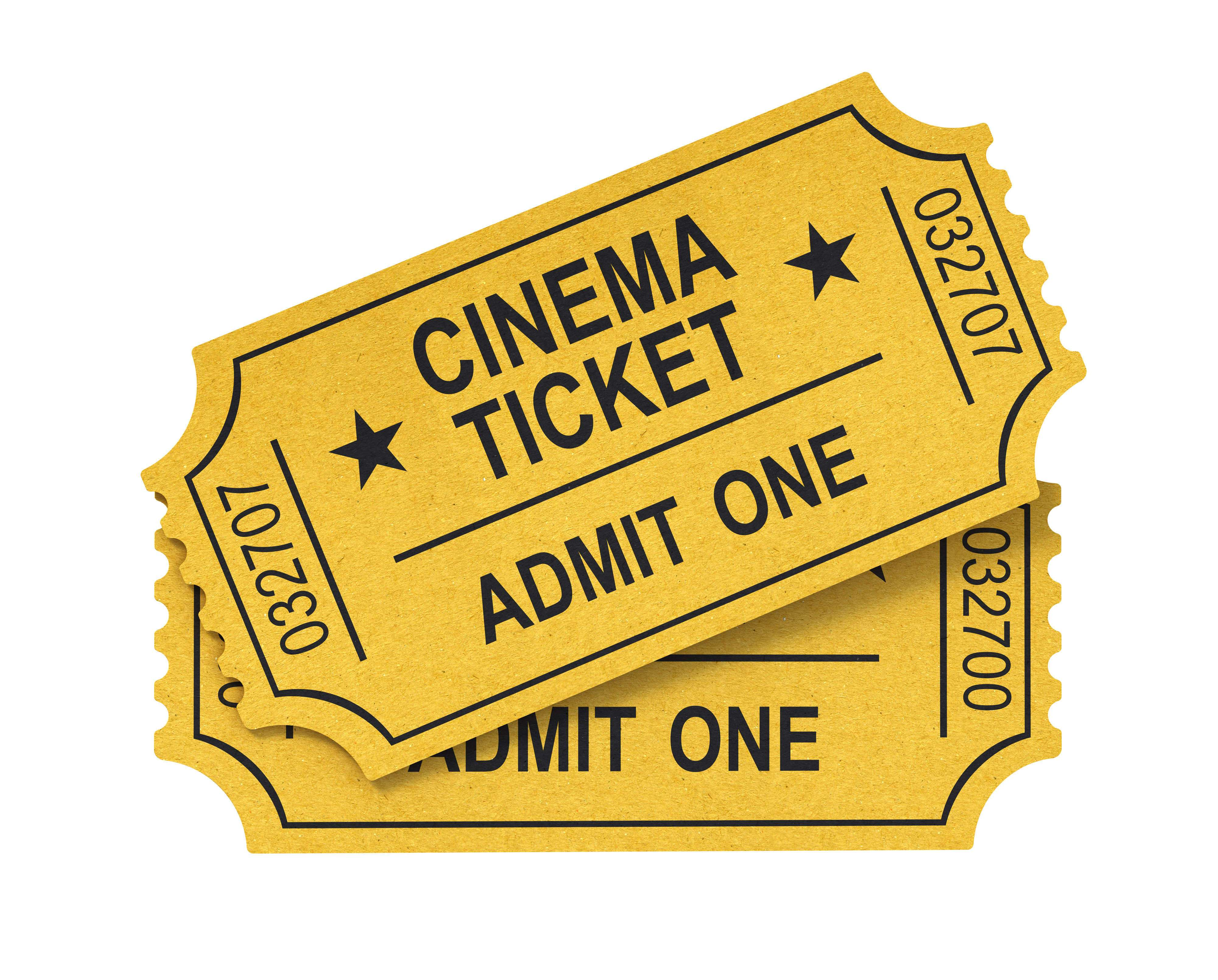 PNG Movie Ticket - 79753