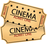 Your ticket to great entertainment value! - PNG Movie Ticket