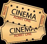 PNG Movie Ticket - 79762