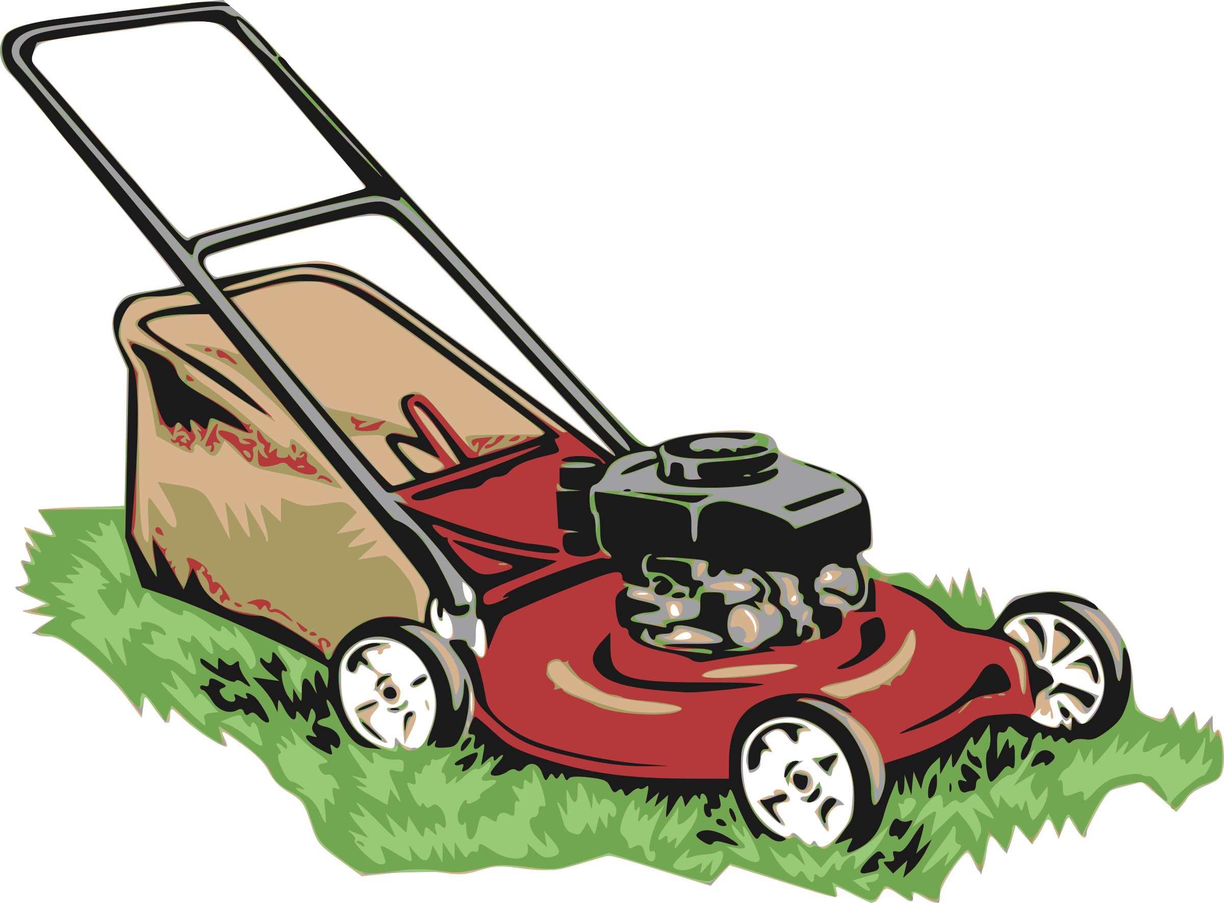 Displaying 20 Images For Lawn Mower Clipart Png - PNG Mowing Grass