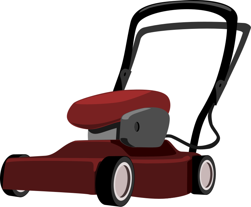 Lawn mower free to use clip art - PNG Mowing Grass