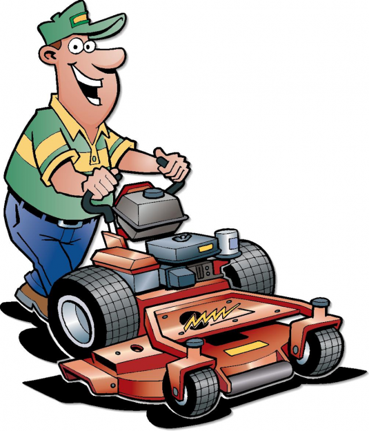 LAWN-MOWING.png PlusPng.com  - PNG Mowing Grass