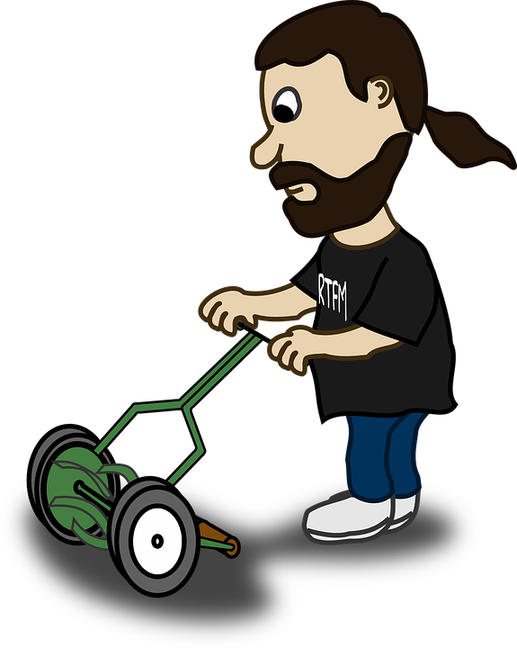 PNG Mowing Grass - 74221