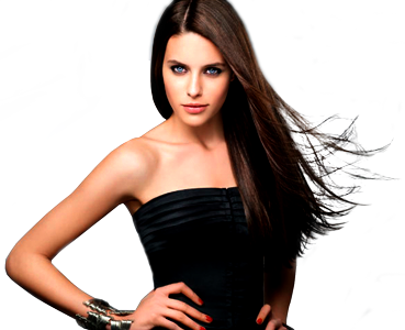 cabello_liso_modelo.png - PNG Mujer