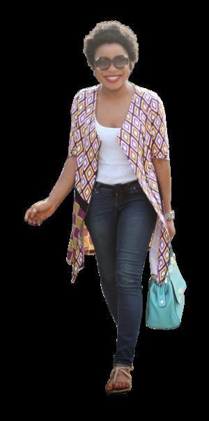 mujer-gafas.png (300×602) - PNG Mujer