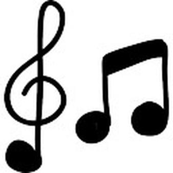 Muziek - PNG Muzieknoten