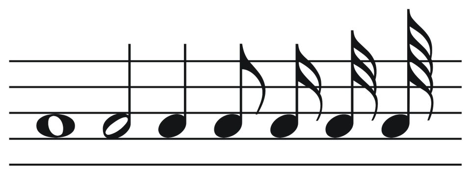 Muzieknoten, Png, Muziek, Melodie, Reeks, Muzieknoot - PNG Muzieknoten