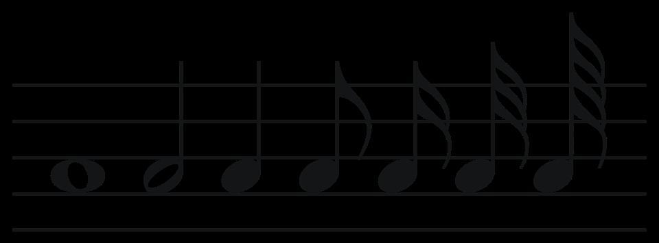 PNG Muzieknoten - 78882
