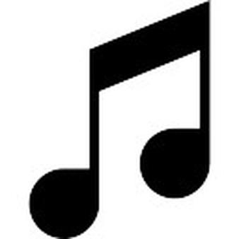 Nota van de Muziek - PNG Muzieknoten