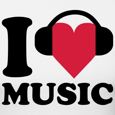 i-love-music-koszulki_design.png - PNG Muzyka