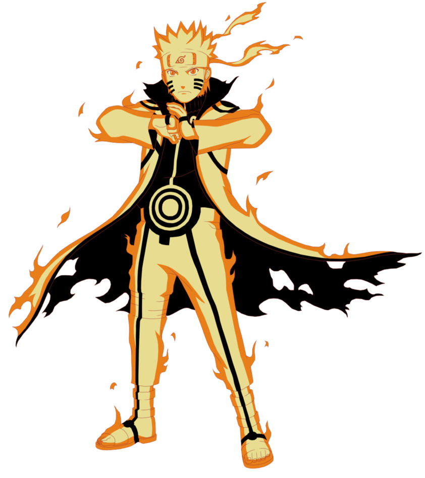 Naruto Uzumaki - Kurama Link Mode.png - PNG Naruto