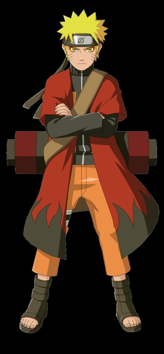 Naruto with coat.png - PNG Naruto