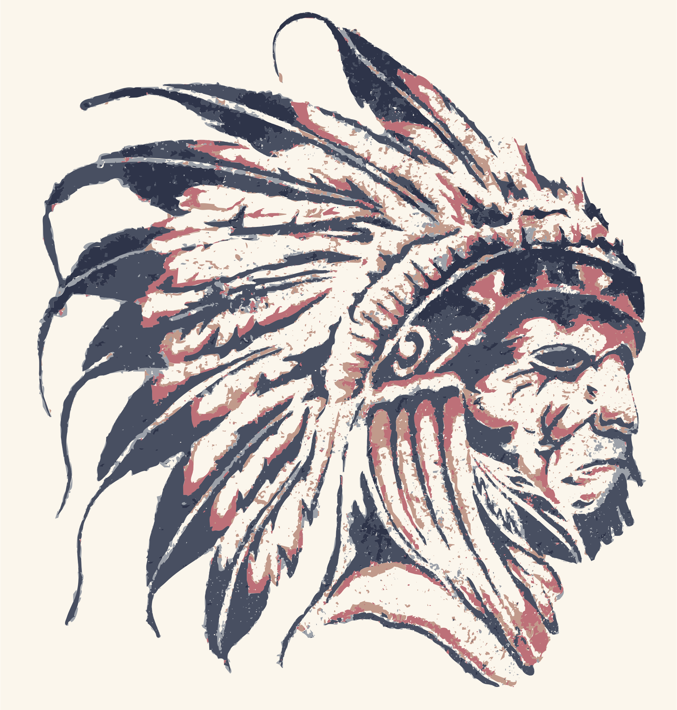 Native American Street Art v1.png (2288×2400) - PNG Native American