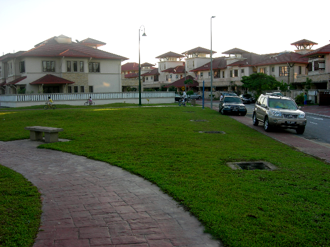 File:Typical Bukit Jelutong neighborhood.png - PNG Neighborhood