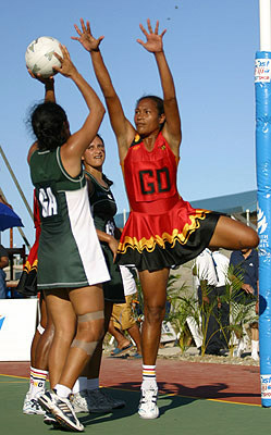 Cook Island Team is winner of the inaugural Pacific Series 2009 - Papua New  Guinea Netball Association - SportsTG - PNG Netball