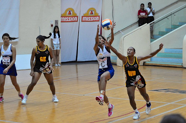 Netball: Singapore edge out Papua New Guinea 44u201343 for 2nd win at Nations  Cup - PNG Netball
