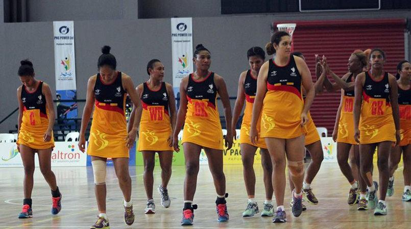 PNG play Fiji in netball final - PNG Netball