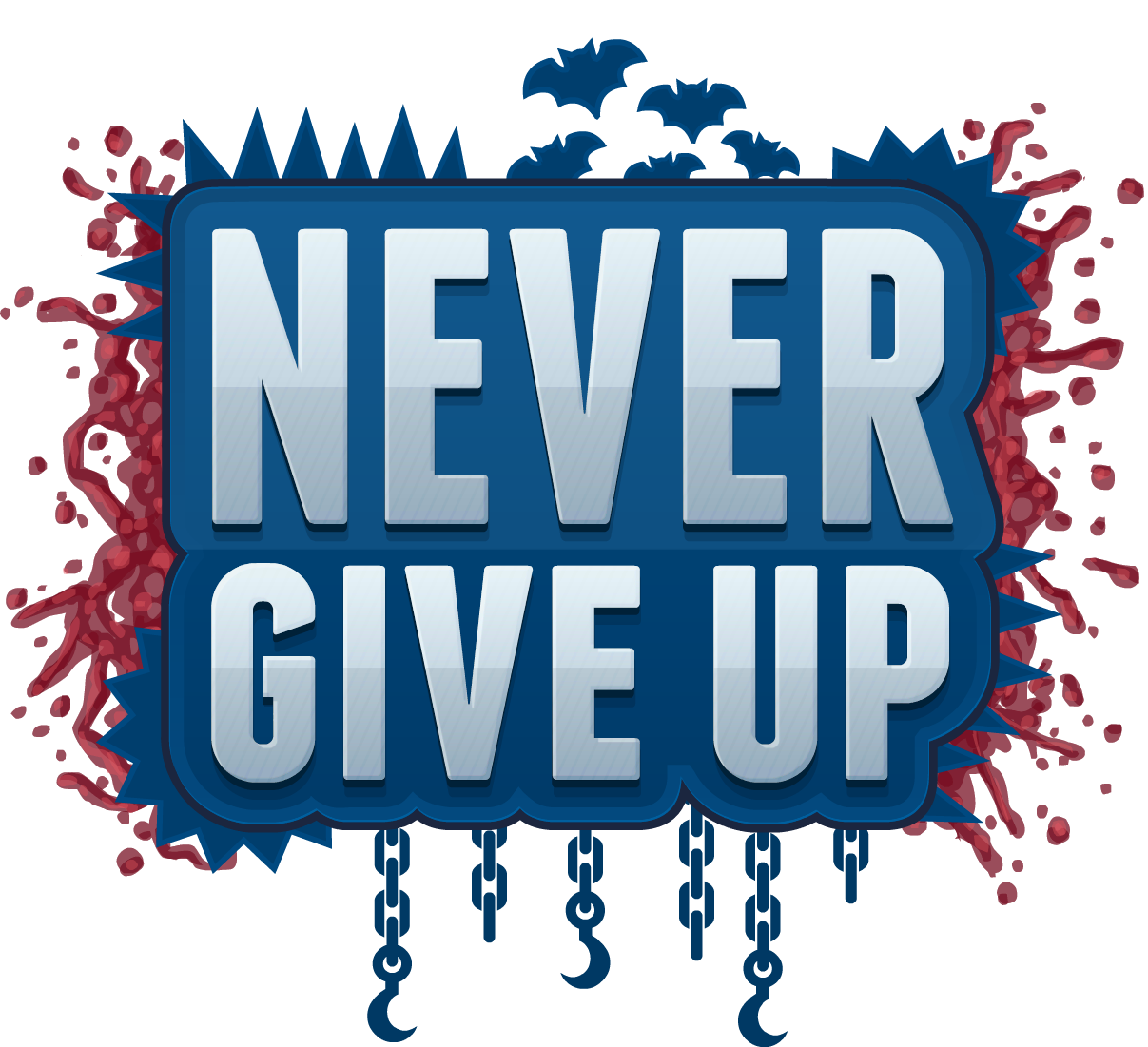 PNG Never Give Up - 78517