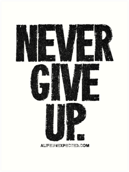 PNG Never Give Up - 78508