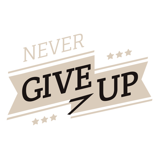 PNG Never Give Up - 78511