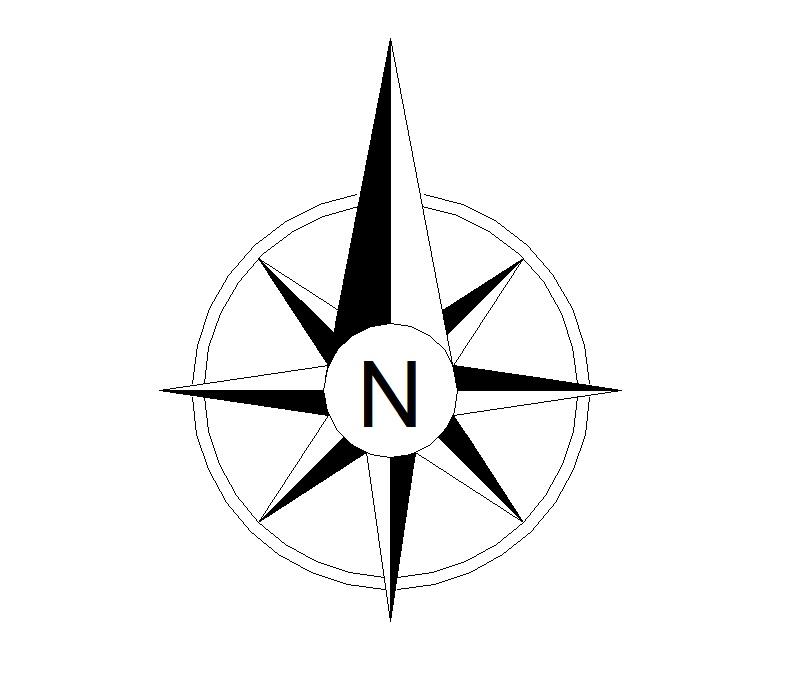 PNG North Arrow - 73929