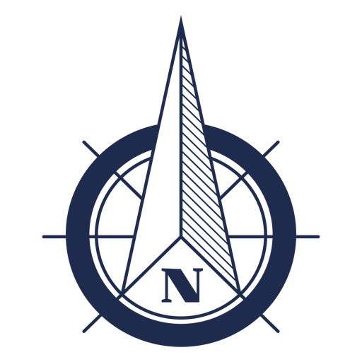 Nautical north arrow ubication png - PNG North Arrow