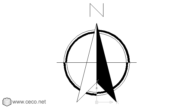 North Arrow 3 - PNG North Arrow