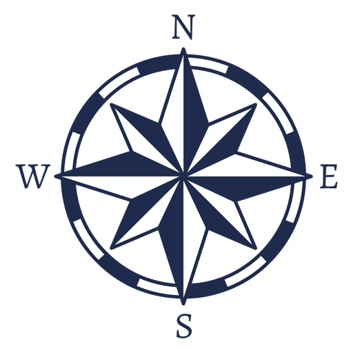 Vintage nautical north arrow ubication png - PNG North Arrow