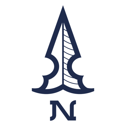 Vintage north arrow ubication png - PNG North Arrow