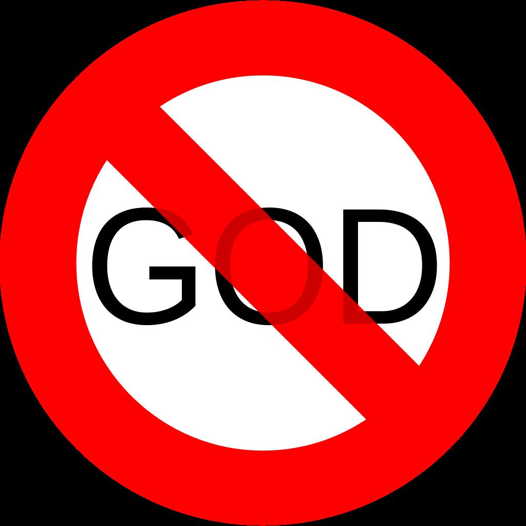 File:No God.svg - PNG Not