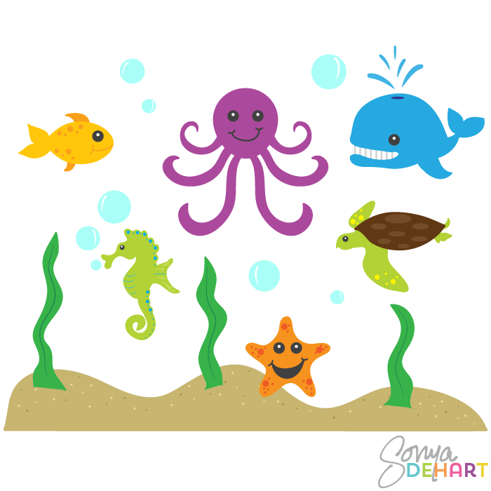PNG Ocean Animals-PlusPNG.com-700 - PNG Ocean Animals