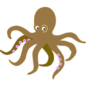 Octopus - PNG Octopus Free