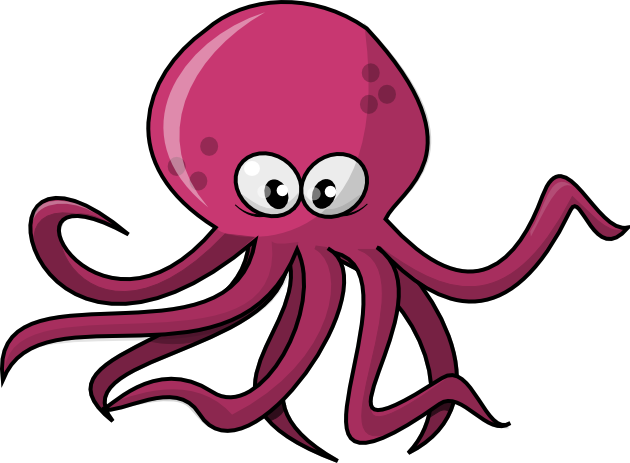 Octopus clipart free clipart images 4 - PNG Octopus Free